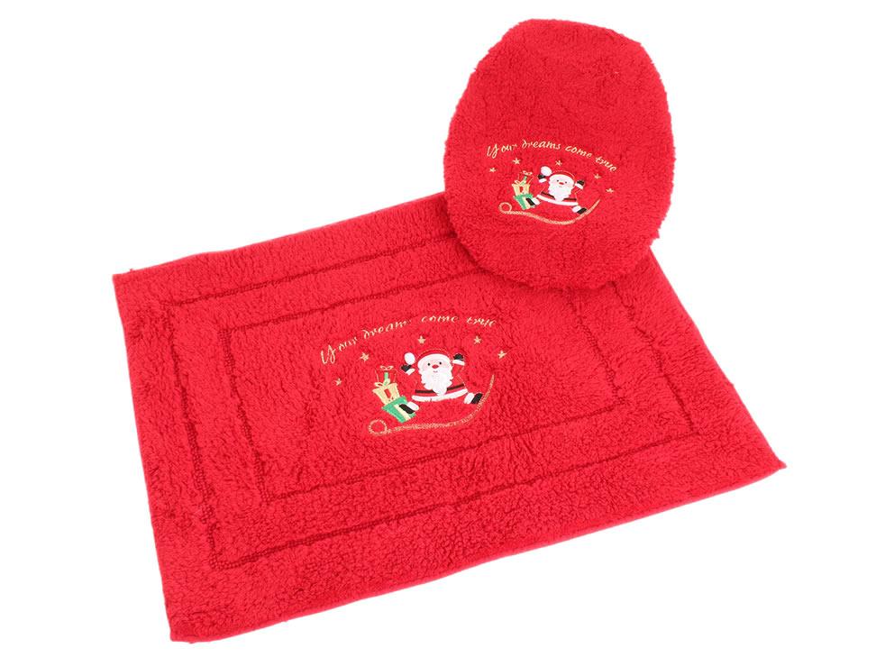 Juegos De Baño Rojos:Juego de Baño Bordado Raya Rojo Dreams-Liverpool es parte de MI vida