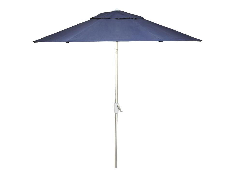 Sombrilla de aluminio para jard n azul fidgy liverpool es - Fundas para sombrillas ...