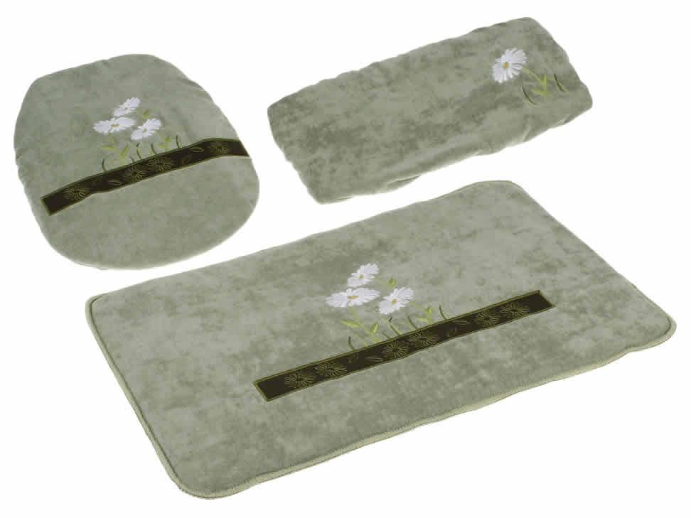 Juegos De Baño Verde: cocina y hogar casa artículos para baño tapetes y juegos de baño